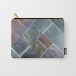 Geometric Watercolor Carry-All Pouch
