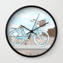 Beach Cruiser Wall Clock
