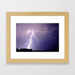 Lightning No. 1 Framed Art Print