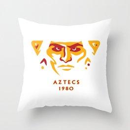 Aztecs 1980 Throw Pillow