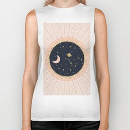 Love in Space Biker Tank