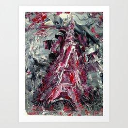 2015 Paris attacks Art Print