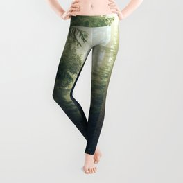 Redwood Forest Adventure - Nature Photography Leggings