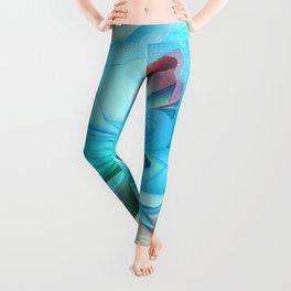 312 - Abstract Flower Orb Design Leggings
