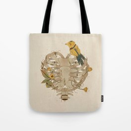 Where is the heart? Tote Bag