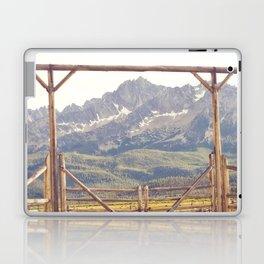 Western Mountain Ranch Laptop & iPad Skin