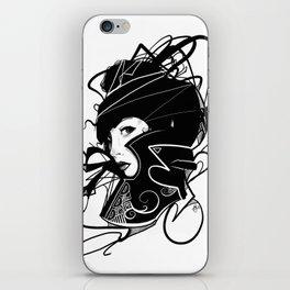 Lady Black (2014 Edition) iPhone Skin