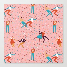 Sock hops Canvas Print