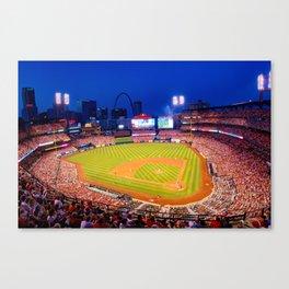 Home Field Advantage - Saint Louis Busch Stadium Canvas Print