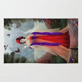 Yang Guifei inspired portrait Rug