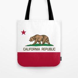 California flag, High Quality Authentic Tote Bag