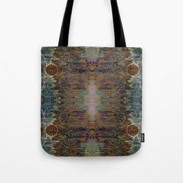 Nebulous Portal Emergence (Electric Gateway) (Reflected) Tote Bag