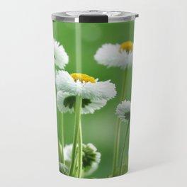 Daisy Flowers 094 Travel Mug