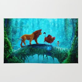 King Of Jungle Rug