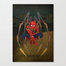 Iron Spidy Canvas Print