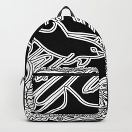 Vaquita Porpoise, Mother And Calf Backpack