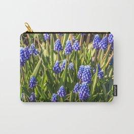 Grape hyacinths muscari Carry-All Pouch