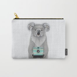 This Koala is a Tourist / Este Koala es un Turista Carry-All Pouch