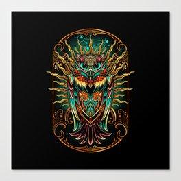 S'Owl Keeper Canvas Print