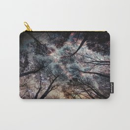 Starry Sky in the Forest Carry-All Pouch