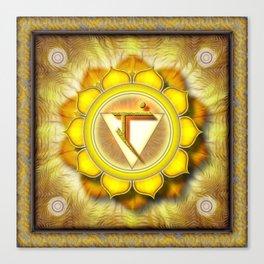 Manipura Chakra - Solar Plexus Chakra - Series I Canvas Print
