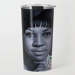 Aretha - Queen of Soul Travel Mug
