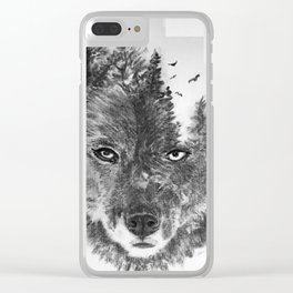 The Wild and the Wilderness II Clear iPhone Case