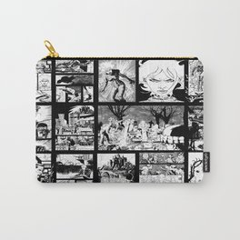 WHITE - A nne Frankenstein Book I - Resurrection Carry-All Pouch