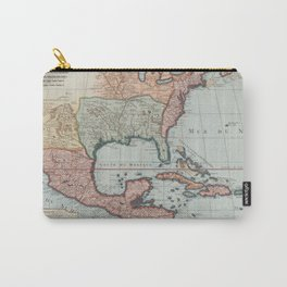 Vintage Map of The Gulf of Mexico (1732) Carry-All Pouch
