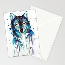 -Dark Wolf- Stationery Cards