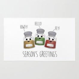 Season's Greetings | Garlic, Oregano & Paprika Rug