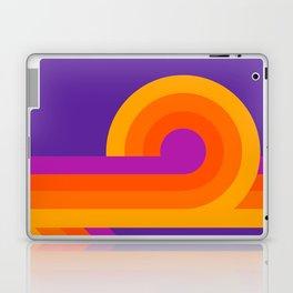 Purple Looper Laptop & iPad Skin