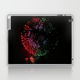 Fire Flower Fireworks Laptop & iPad Skin