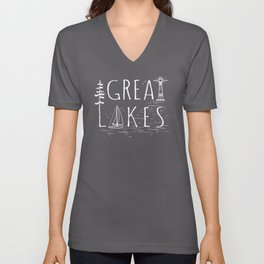 Great Lakes Unisex V-Neck