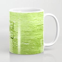 Lime Letters Coffee Mug