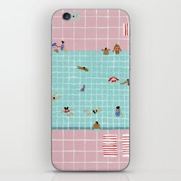 Pink Tiles iPhone Skin