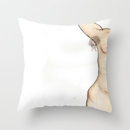Beauty in Skin Throw Pillow