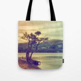 Autumn Lakeside Tote Bag