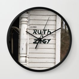 Ruth and Idgie 5 Wall Clock