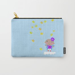 Ananda The Fairy Baby - Butterflies Carry-All Pouch