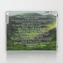 Psalms 23 Lords Prayer Laptop & iPad Skin
