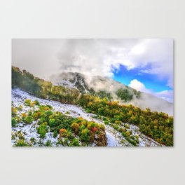 Autumn in Mountains Canvas Print