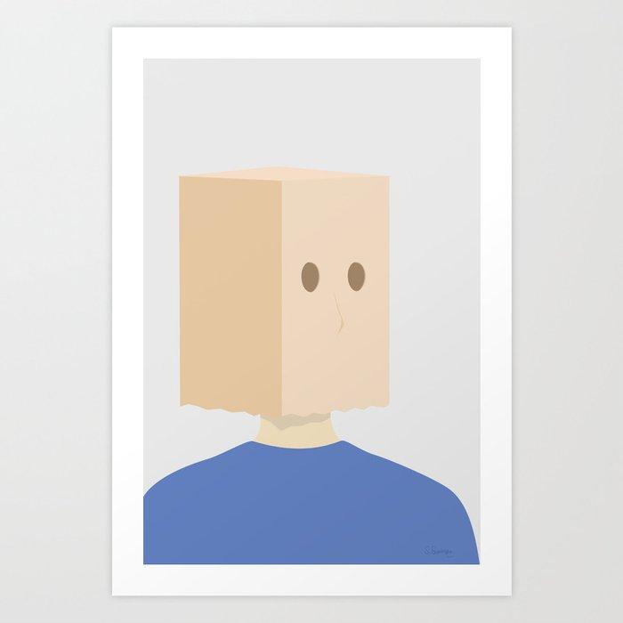 RYGEFORBUD No.02 Art Print