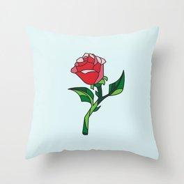 BELLES ROSE Throw Pillow