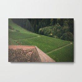 Countryside Textures Metal Print