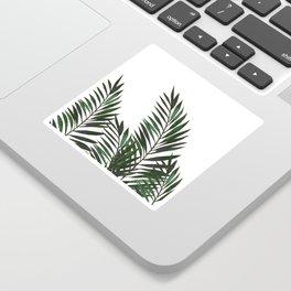 Palm Leaves Green Sticker