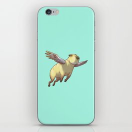 Flying Capybara iPhone Skin