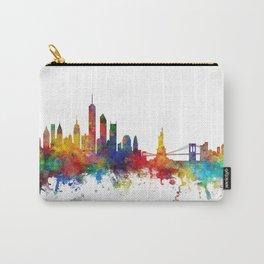 New York Skyline Carry-All Pouch