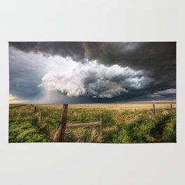 Aquamarine - Storm Over Colorado Plains Rug