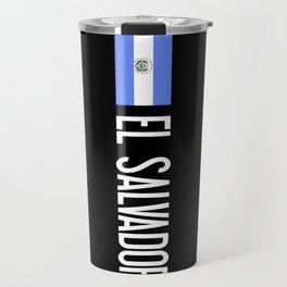 El Salvadoran Flag & El Salvador Travel Mug